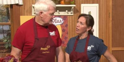 People Plus Cooks!  Zucchini 2 Ways