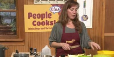 """People Plus Cooks! """"Left Overs"""" Soup"""