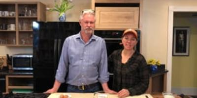 PeoplePlus Cooks with The Gentleman Farmer in Maine! Homemade pasta