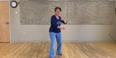 Tai Chi with Suzanne Intro part 3 - part the wild horse's mane