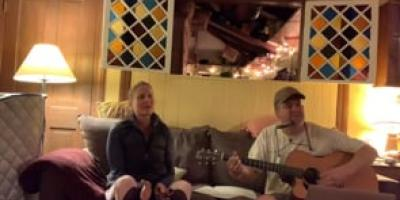 Live music! Walter and Melinda sing for their supper during quarantine #1
