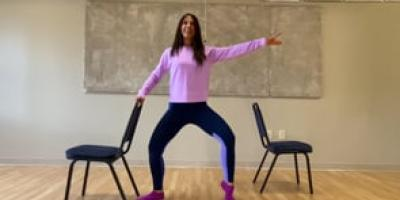 Gentle barre class with Bea!