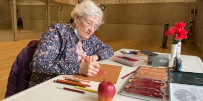 Art class with Connie #25!!